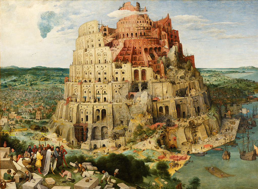 "Pieter Bruegel ""The Tower of Babel"""