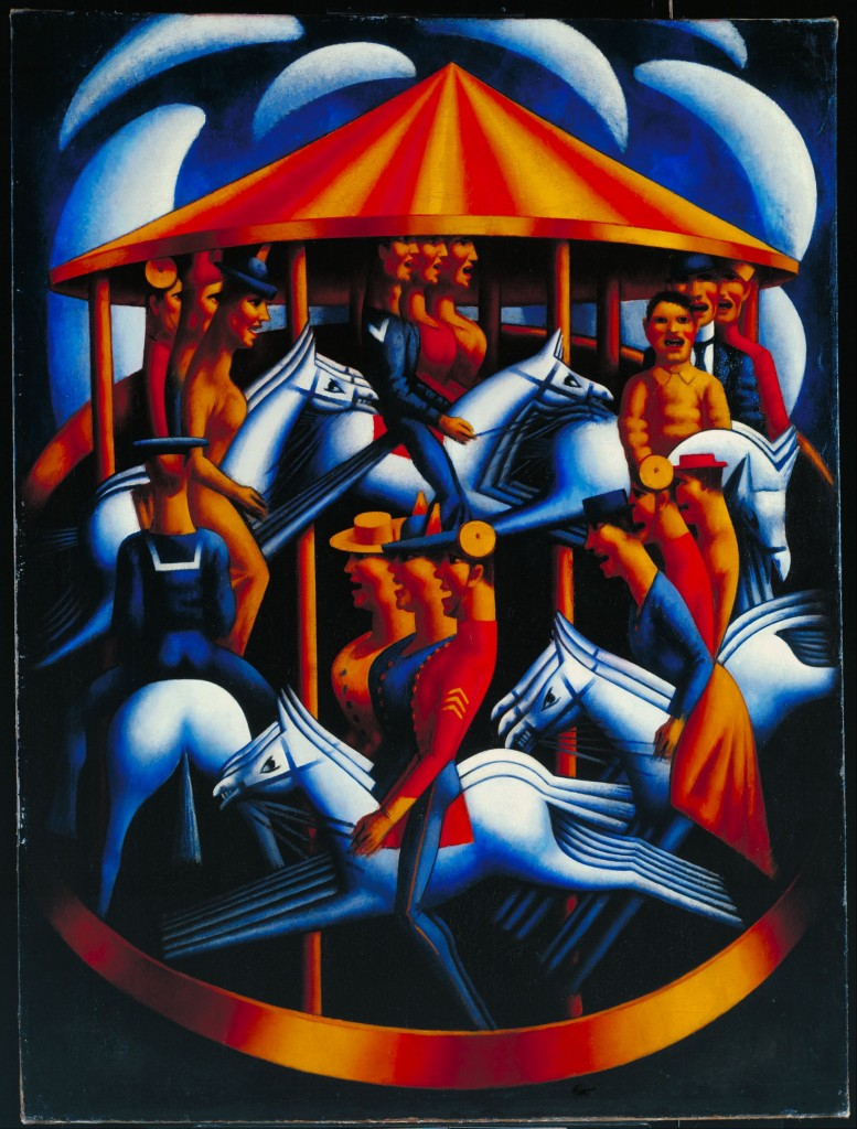 "Mark Gertler ""Merry-Go-Round"""