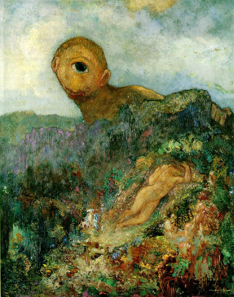 """""""Cyclops"""" Odilon Redon (1840–1916)"""