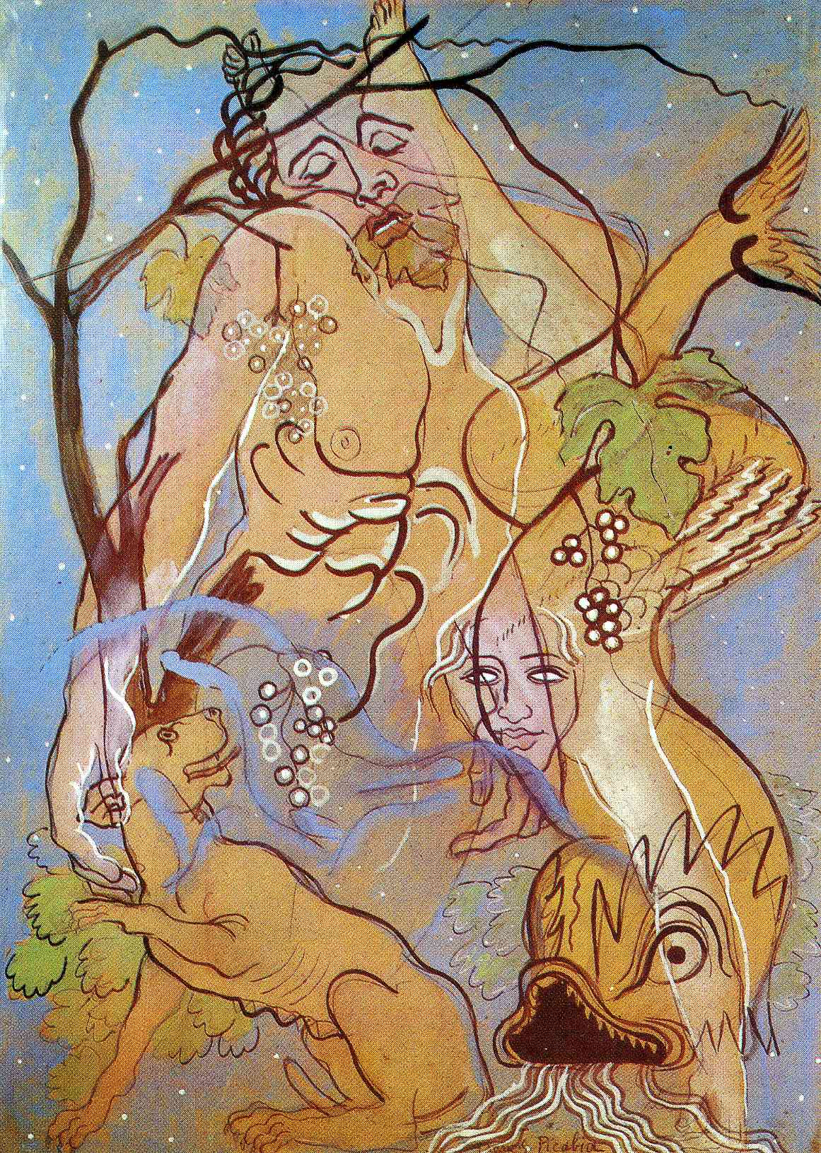 "Francis Picabia ""Transparence"""